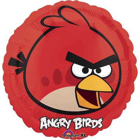 Anagram International Angry Birds Foil Balloon Pack, 18