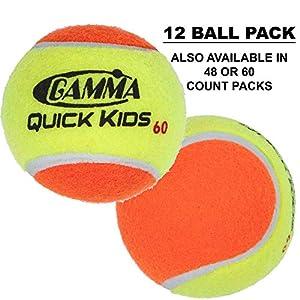 כדורי טניס של חברת Gamma quick kids למכירה באתר tennisnet !