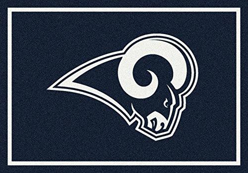 Los Angeles Rams NFL Team Spirit Area Rug by Milliken, 5'4