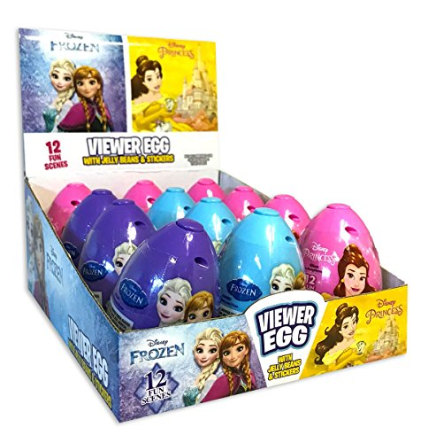 Disney Princess Easter Egg Viewer with Jelly Beans and Stick