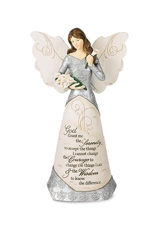 Pavilion Gift Company 82332 Serenity Angel Figurine, 9-Inch
