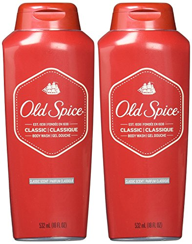 (Old Spice Classic Body Wash - 18 oz - 2)