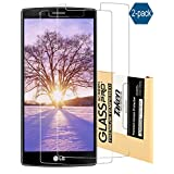 Taken Lg G4 Screen Protector - [2 Pack] High Definition Tempered Glass Ultra Clear for Lg G4