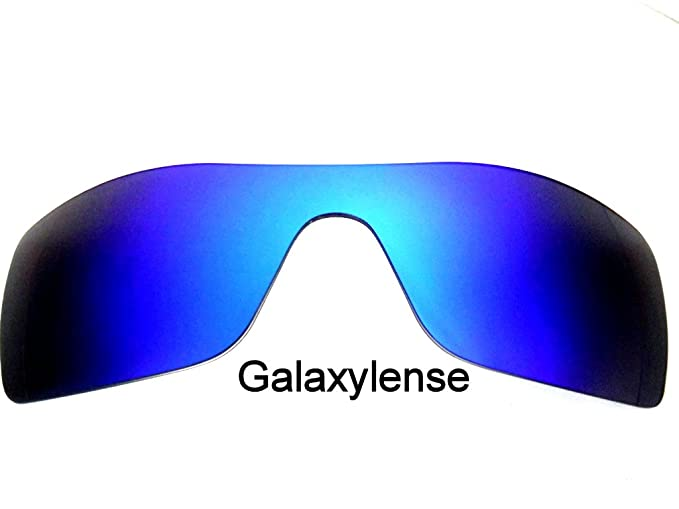 6afe95faf5 Amazon.com  Galaxy Replacement Lenses for Oakley Batwolf Blue Color ...
