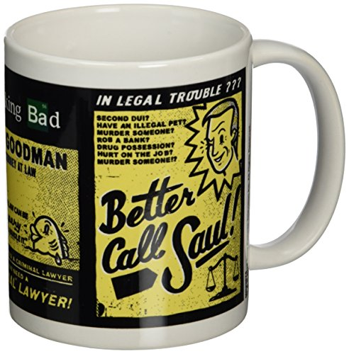 Breaking Bad Better Call Saul Ceramic Mug