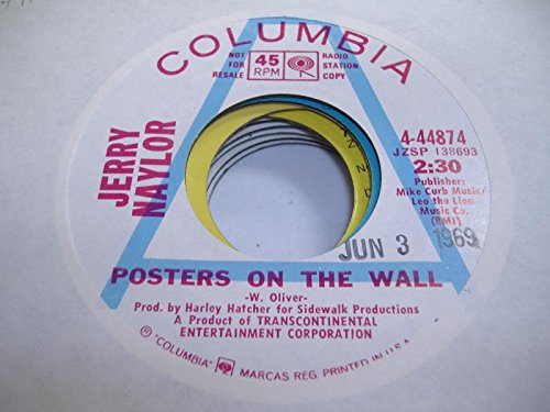 - JERRY NAYLOR 45 RPM Posters on the Wall / Gotta Travel On