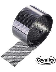 Hor Reparatie Tape – Plakkend - Grijs - Eenvoudig uw hordeur, Plissé schuifpui hor of raamhor repareren – Horgaas reparatietape - Qwality4u (Grijs)