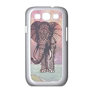 Hjqi - Personalized Elephant Cell Phone Case, Elephant Customized Case for Samsung Galaxy S3 I9300