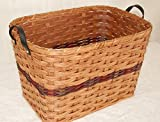 Amish Small Laundry Basket. Make Yet Another Great Addition to Your Rustic Country Home Decor with This Amish Handmade Basket. You Will Be the Hit of the Party When You Fill It with Goodies and Give It As a Unique Gift Basket. This Would Make the Perfect