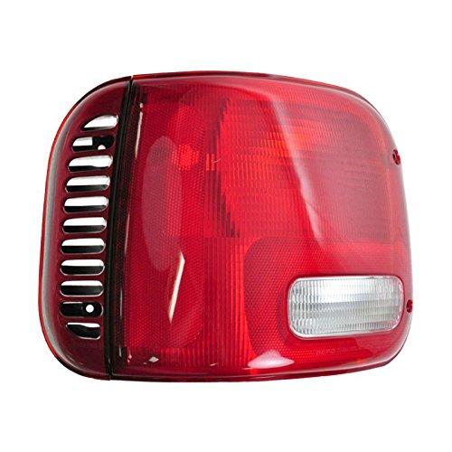 Taillight Taillamp Driver Side Left LH Brake Light for 94-03 Dodge Full Size Van