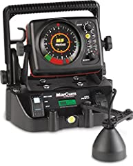 """The most advanced flasher-sonar ever built, the MarCum """"M"""" Series offers Brushless, dead-quiet operation with dazzling bright and crisp color definition of bottom, fish, baitfish and your lure, all illuminated on the highest resolution displa..."""