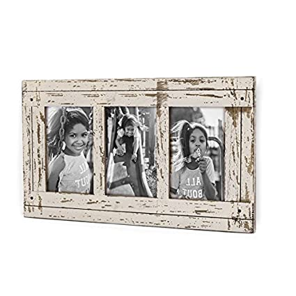 Amazon Decenthome Rustic Wood Collage Picture Frame 3