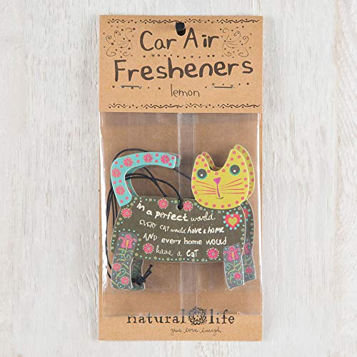 (Natural Life Cat Air Freshener, Set of 3)