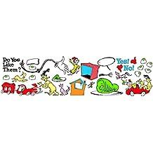 Paper Magic Eureka Dr. Seuss If I Ran The Circus - Lemonade Goal Setting Mini Bulletin Board Set