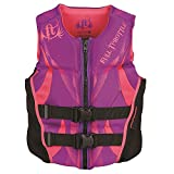 Full Throttle Women's Hinged Rapid-Dry Flex-Back Vest, Purple (Med)