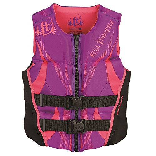 Full Throttle Women's Hinged Rapid-Dry Flex-Back Vest, Purple (Med) ()