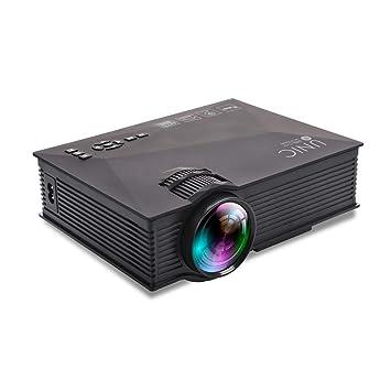 HiXB Proyector 1080p PortáTil Mini Soporte ConexióN ...