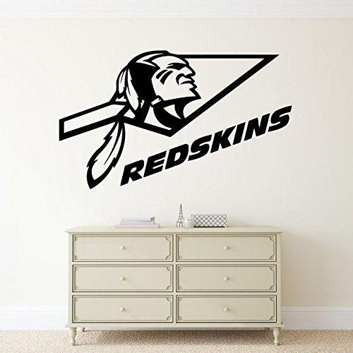 Washington Redskins NFL Logo Vinyl Decal Sticker Wall Emblem Football Sport Home Interior Removable Decor (22