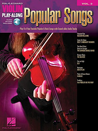 (Popular Songs: Violin Play-Along Volume 2 (Hal Leonard Violin Play Along))