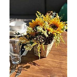 Birch & Sunflower Centerpiece by Compass Home Decor 57