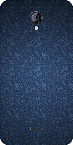 shengshou pattern design mobile back cover for micromax unite 2 a106   black blue   Black; Blue