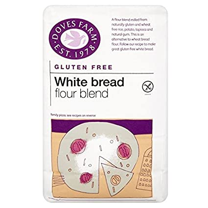 Palomas Granja gluten y pan de trigo blanco libre Harina 1kg: Amazon ...