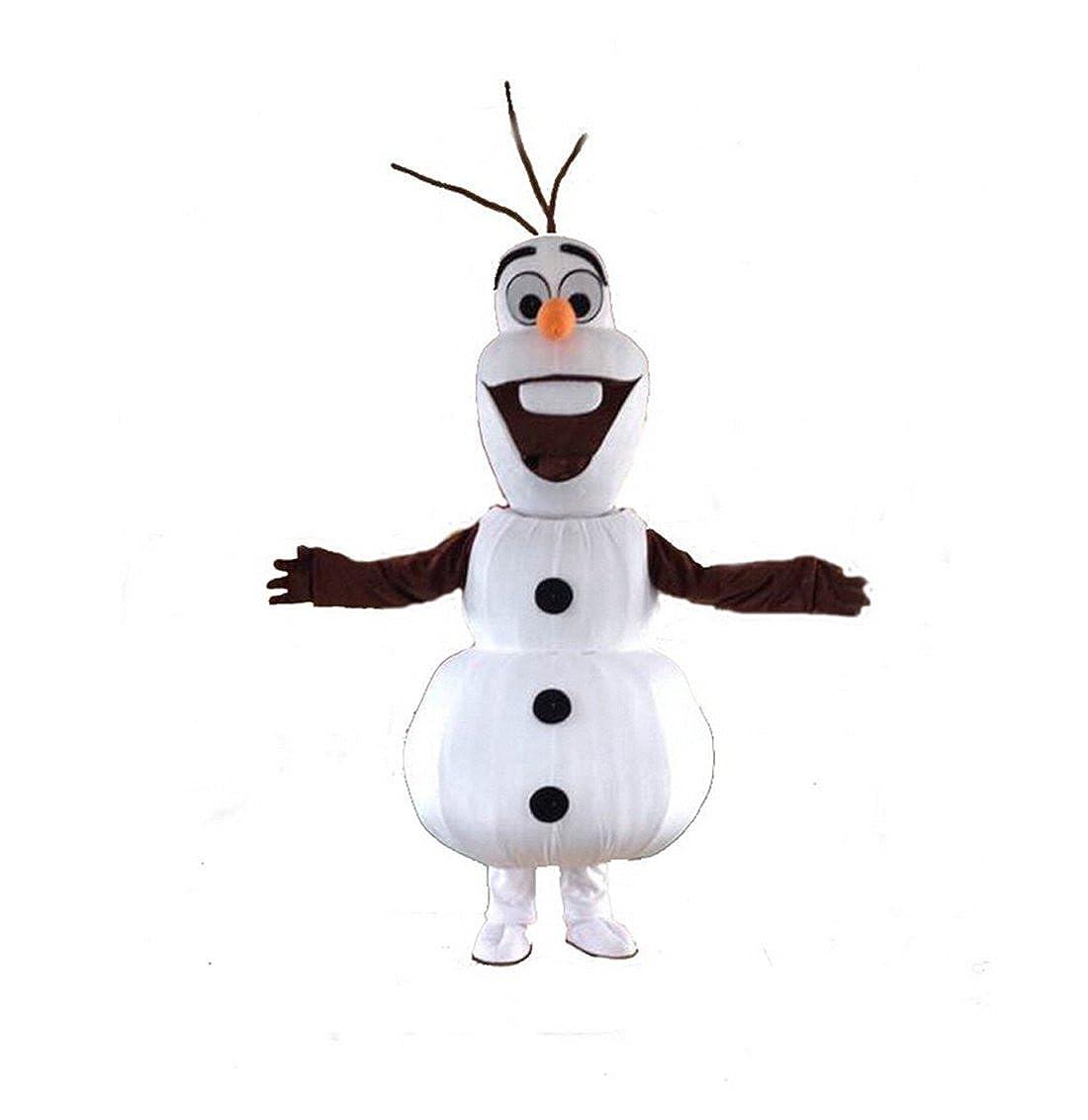 Olaf Muñeco de nieve mascota disfraz cospaly personajes de dibujos ...