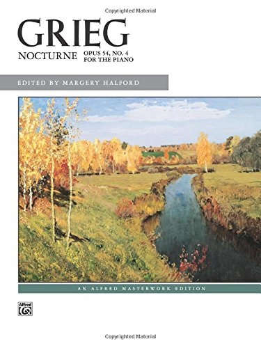Vintage Piano Sheet Music (Nocturne, Op. 54, No. 4: Sheet (Alfred Masterwork Edition))