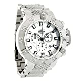 New Invicta 1894 Men's 50mm Subaqua Noma III Swiss Made Chronograph Silver-Tone Dial Stainless Steel Bracelet Watch