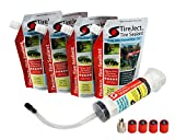 TireJect Tire Sealant Kit - Fix and Prevent Flat Tires (40oz)