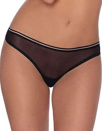 285d04c91 Roza Women s Lica Black Sheer Panty Thong  Roza  Amazon.co.uk  Clothing