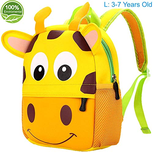Toddler Backpack for Boys and Girls, 12.6
