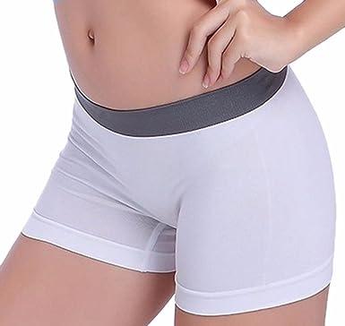 Cinnamou Pantalones Cortos de Mujer Short para Yoga Boxer ...