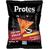 PROTES Vegan Baked Protein Chips | 6 Bags (4 oz.) | 15G of Protein, 120...