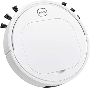 ES28 Robot Vacuum Cleaner, 3 in 1 Automatic Sweeping Vacuuming & Mopping Robotic Vacuum Cleaner, 1800Pa Strong Suction, Quiet, Anti-Collision, Good for Pet Hair,Carpets,Hard Floors,Tile