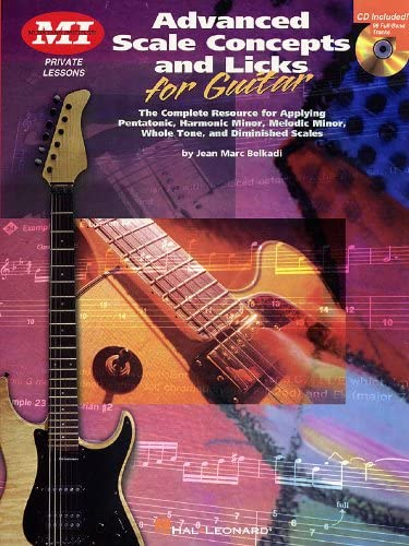 Jean Marc Belkadi: Advanced Scale Concepts And Licks For Guitar ...