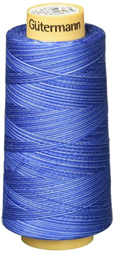 Gutermann Natural Cotton Thread Variegated, 3281-Yard, Deep Evening Sky by Gutermann