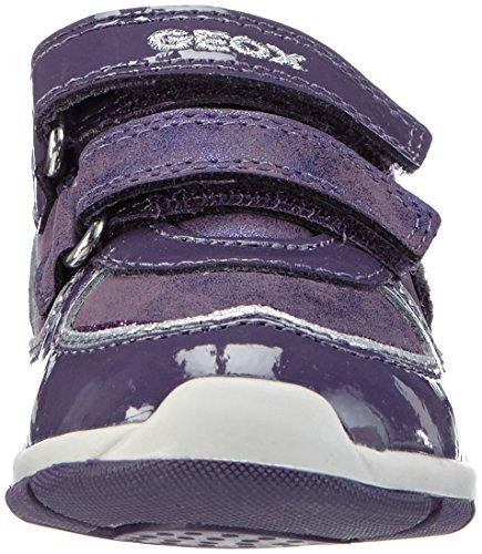 Geox B Shaax B - Zapatillas de running Bebé-Niños Violeta (Prune c8017)