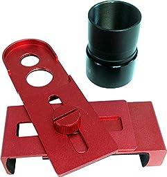iOptron 8432 Universal Smartphone Eyepiece Adaptor (Red)