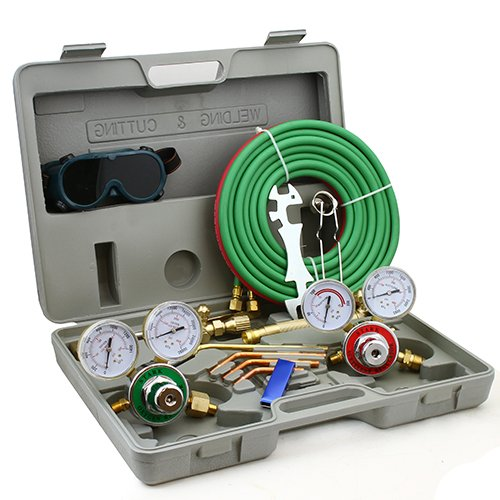 XtremepowerUS''Harris'' Type Oxy Acetylene Welding Cutting Torch Kit by XtremepowerUS (Image #5)
