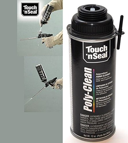 Touch 'n Seal M5749 Poly-Clean Polyurethane Rubber Foam Cleaner for Tools and Applicator