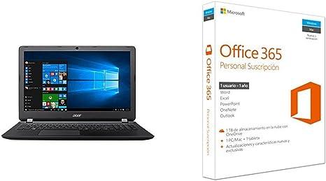 Acer Aspire ES 15 - Ordenador portátil de 15.6