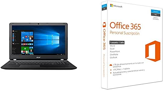 """Acer Aspire ES 15 - Ordenador portátil de 15.6"""" HD (Intel"""