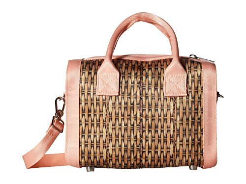 Seat Belt Bag Mini (Harveys Seatbelt Bag Women's Mini Marilyn Satchel Wicker Handbag)