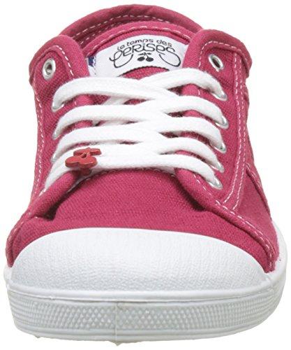 Sneaker Cerises Basic Rosso Le Donna rouge Rouge 02 Temps Des SXqSAER