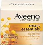 Aveeno Smart Essentials Nighttime Moisture Infusion Facial Moisturizer, 1.7 Ounce