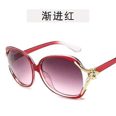 Yangjing-hl Gafas de Diamante con Borde Cortado Gafas de Sol ...