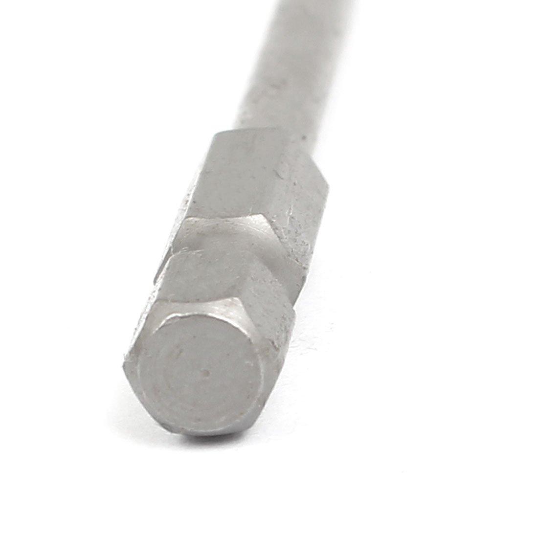 1//10,16 cm adaptadores hexagonales para taladro 3 mm Allen H3,0 en juego de puntas de destornillador 10 piezas