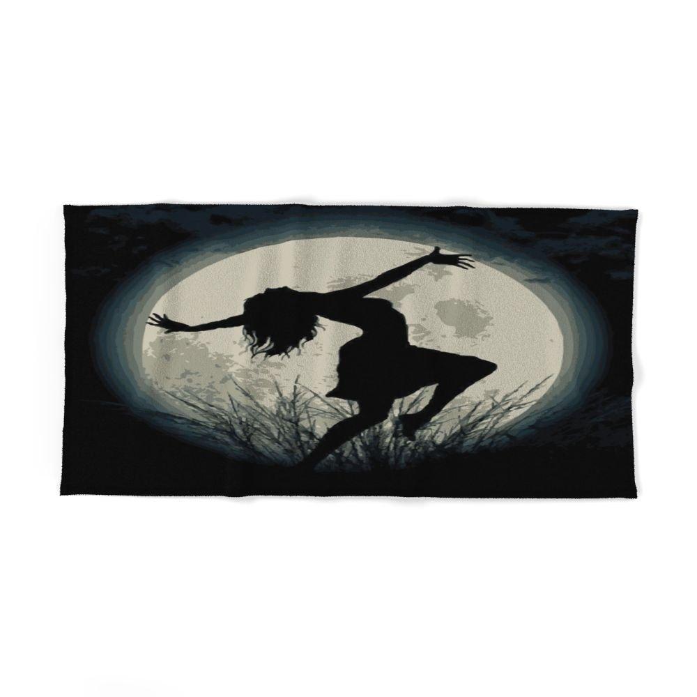 Society6 Moon Dance Bath Towel 64''x32''