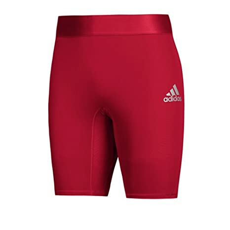 fb3ba937f66de Image Unavailable. Image not available for. Color: adidas AlphaSkin 7Inch Short  Tight Women's Training M Power Red